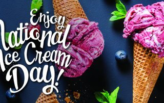 Blueberry Lavender Ice Cream