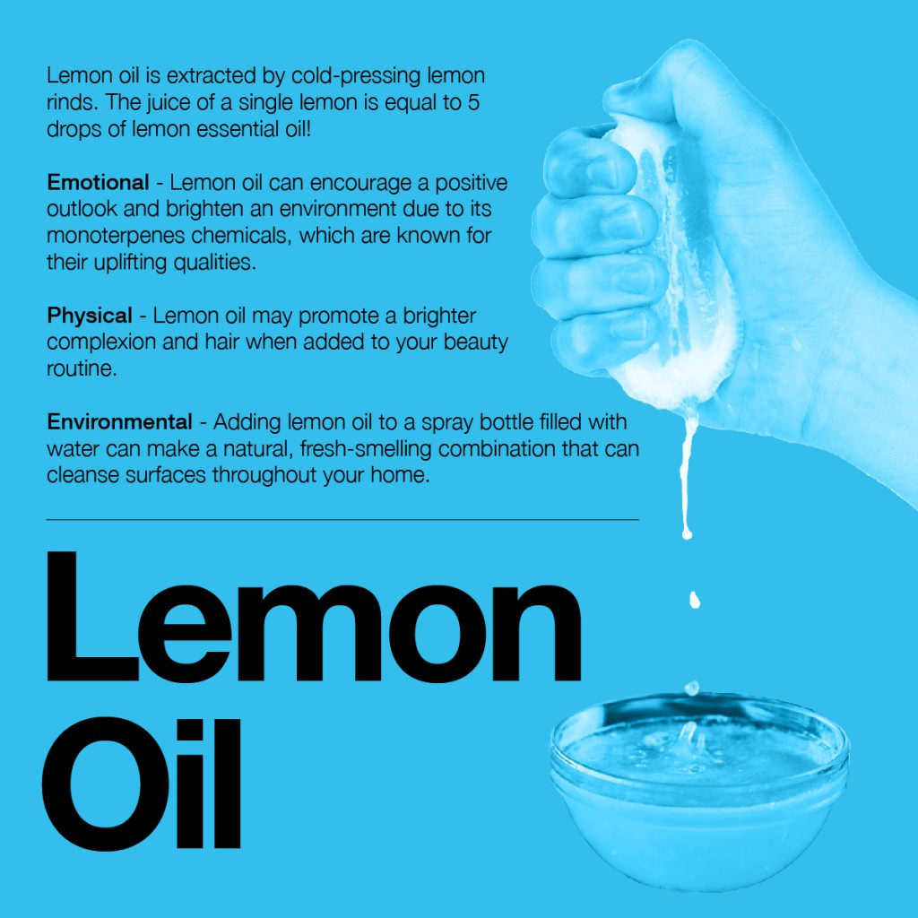 information about lemon oil