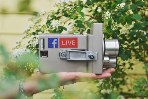 Facebook Live camera, social media and your business